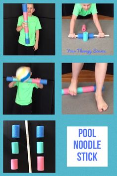 Pool Noodle Stick from www.YourTherapySource.com