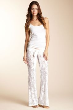 ~these PJ bottoms are so me. Love the lace. *