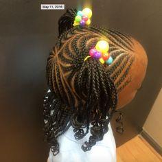 Adorable little girl style @kiakhameleon - http://community.blackhairinformation.com/hairstyle-gallery/kids-hairstyles/adorable-little-girl-style-kiakhameleon/