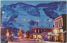 Aspen, CO...while you are there check out the John Denver Memorial Park...awesome...you will get a Rocky Mtn High..
