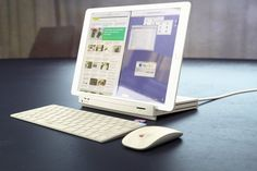 iPad Retro-Dock : et l'iPad Pro devient un Mac LC moderne Ipad Pro, Ipad Hacks, Ios, Tech Branding, Portfolio Case, Macbook Laptop, Old Computers, Mac Mini, Apple Inc