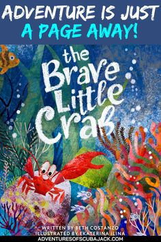 The Brave Little Crab-Seven Silly Sharks is an underwater adventure detailing the concept of counting backwards. The beautiful illustrations capture the reader's attention and fascination with the world under the deep blue sea. #kidsstorybooks #storybooks #seastories Best Story Books, Kids Story Books, Fun Activities For Preschoolers, Book Activities, Storybook Online, Virtual Field Trips, Preschool Books, Cute Stories, Child Love