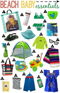 top 15 must pack items for taking a toddler to the beach heading