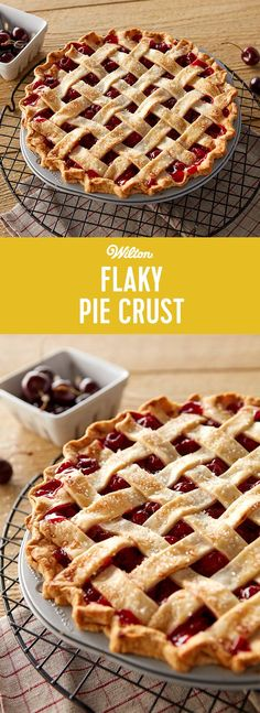 Flaky Pie Crust Recipe - This delicious, flaky pie crust is sure to get you through the Fall season. Perfect for your Thanksgiving pie, this homemade pie crust will be a staple in your pie recipes.