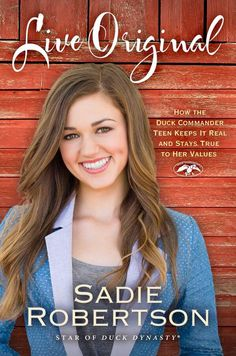 Sadie's new Book! #love #DuckDynasty #LiveOriginal