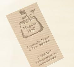 200 Letterpress Business Cards  300 gms Color by MilLetterpress