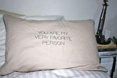 the pillow plus me