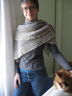 Malagash Shawl. - There's something about this (in a lovely grey?) that makes me dream of the moors.