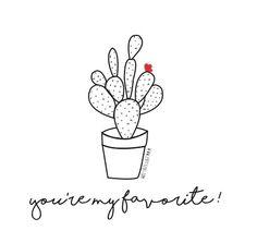 Cactus illustration www.zottezus.com