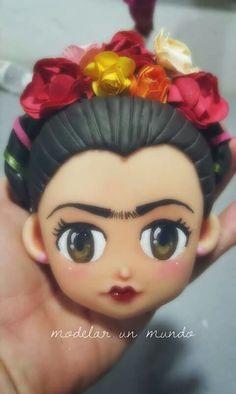 Frida porcelana de Modelar un mundo
