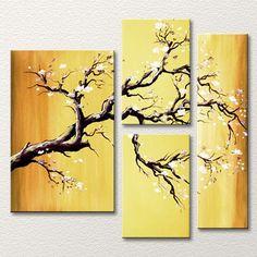 Imagini pentru three paintings different sizes