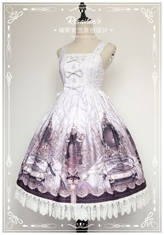 Resailan's Lolita -Hide and Seek- Lolita Jumper Dress Simple Version
