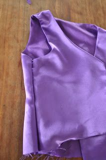 I'm still sewing ballet costumes! This one is a boy's lined vest. I thought that this would be a good opportunity to try out some of the m...