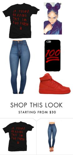 """"""""""" by lexiswagg on Polyvore featuring NIKE"""