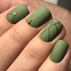 Najlepsze Obrazy Na Tablicy Green Nails Inspirations 2018 Zielone