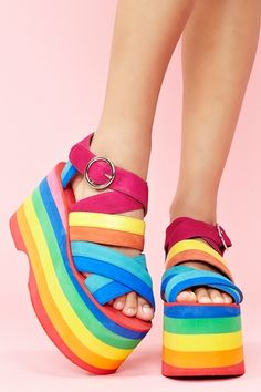 Popo Platform - From Nasty Gal.