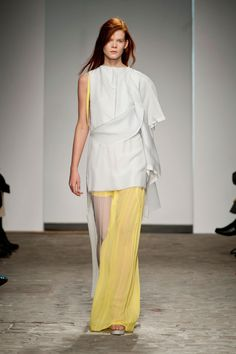 Vionnet at Couture Spring 2014 - StyleBistro