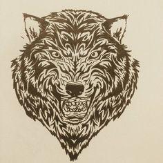 Tigre noir et blanc