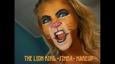 This must be one of my favorite Disney movies when i was a little girl. Because i have kids + my little sisters favorite movie is Lion King, i wanted to do t. Genie Costume, Costume Makeup, Diy Halloween Costumes, Halloween Makeup, Diy Makeup Looks, Facial, King Design, Lion King Simba, Makeup Tutorials Youtube