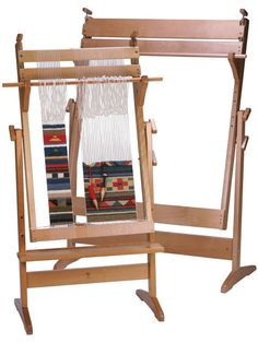 Weaving is art with the Ashford Tapestry loom. Create colorful tapestries with this easy to warp and weave on Ashford loom Weaving Loom Diy, Weaving Tools, Card Weaving, Tablet Weaving, Weaving Projects, Weaving Textiles, Weaving Patterns, Ashford Loom, Tapestry Loom