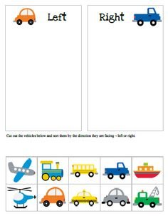 Transportation printable pack - vocabulary, tracing, counting and sorting activities for preschool and kindergarten. Preschool Themes, Preschool Worksheets, Preschool Learning, Kindergarten Activities, Educational Activities, Early Learning, Preschool Activities, Alphabet Worksheets, Transportation Activities