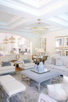 Living Room Interior, Interior Design Living Room, Living Room Designs, Color Interior, Living Room Color Schemes, Family Room Design, Family Rooms, Furniture Arrangement, Luxury Living