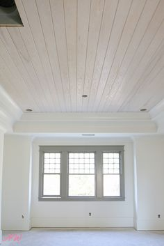How to whitewash hardwood flooring! A peek at our 1905 home restoration journey and how we white washed our original floors!