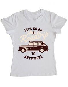 Tricou Roadtrip - PRINTADO Road Trip, Camping, Mens Tops, T Shirt, Design, Fashion, Campsite, Supreme T Shirt, Moda