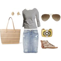 """""""Spring lunch"""" by malloryhigh on Polyvore"""