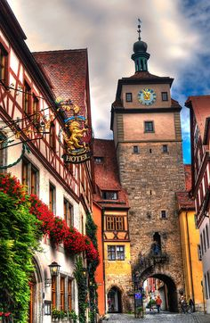 Rothenburg ob der Tauber, Germany - such a beautiful town! Visit Germany, Germany Travel, Places Around The World, Around The Worlds, Places To Travel, Places To Go, Rothenburg Germany, Rothenburg Ob Der Tauber, Places Of Interest