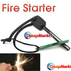 Fire Starters, Camping And Hiking, Survival, Delivery, Stone, Sports, Outdoor, Products, Hs Sports