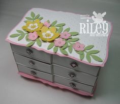 1000 images about handmade jewelry boxes on pinterest - Handmade jewellery box ideas ...