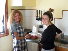 Ternera salteada con berenjenas y cuscus