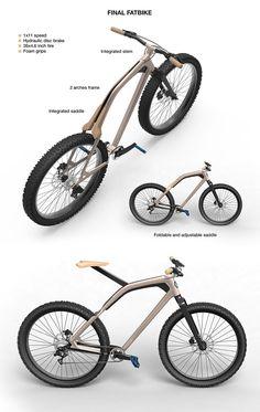 Fatbike design Volvo - Julien QUIRING