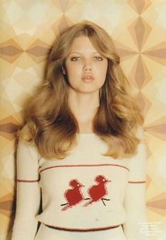 70's hair - love the soft waves, so chic
