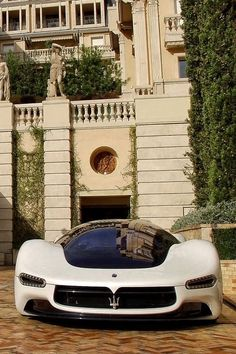Maserati — Looks like a bubble on wheels!
