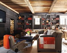 Cabin Couture | basement