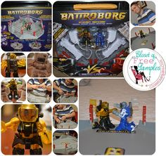 Fun With Dad: Battroborg Motion-controlled battling robots