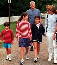"""""""I'm really proud of my family, I mean my parents, I can't imagine having better parents and a more wonderful brother so I feel very fortunate that they are my family. You know I wish they were here but my own family, my children, my husband, are really my family""""- Caroline Kennedy [x]"""