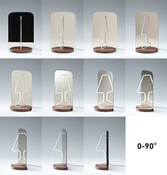 Reflection as a Key Design Tool: Ingenious Moitie Table Lamp