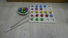 Color ball wooden toy