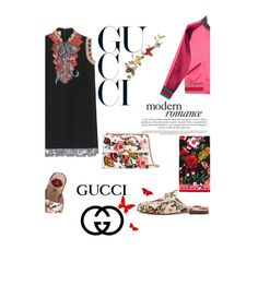 """""""Garden exclusive"""" by selfstylesuccess ❤ liked on Polyvore featuring Gucci, Benzara, Diamantini & Domeniconi, garden and gucci"""