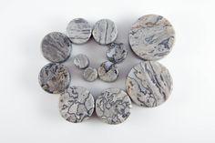 One pair of Organic Wave Jasper Stone plugs These plugs are crafted with Genuine Organic Wave Jasper stone. They are polished to a smooth finish and double flared for a secure and snug fit. Because ou