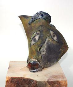 """Raku Weihs"" workshop (Austria). 2017 Argilla. Aubagne. France. International pottery fair. Raku. Sculpture"