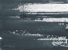 Endre Penovác - Watercolor, 28x38 cm