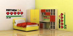 Minecraft wall decor }