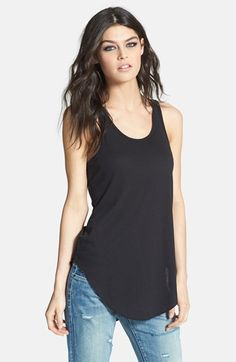 Leith Knit Racerback Tank   Nordstrom