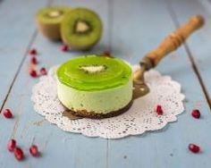 Mini cheesecake au kiwi