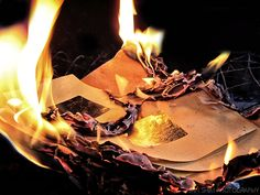 The paper represents the history of the state of the climate in its previous states while the fire (representing our heavily increasing carbon footprint) is shown to be as the irreversible, yet dramatic changes we're making towards the climate itself. Broken Dreams, Burnt Paper, Into The Fire, Paper Gifts, Burns, Photography, Inspiration, Aesthetics, Carbon Footprint