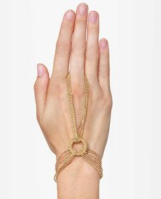 Gold Harness Bracelet